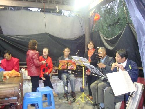 Традиционен оркестър на открито