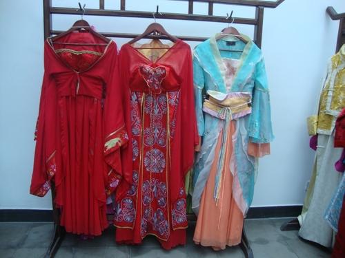 Сватбени облекла от династията Тан