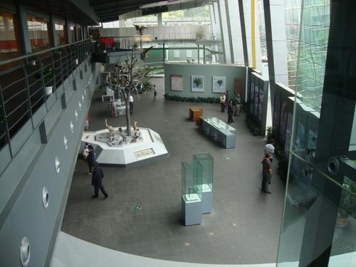 Фоайето на музея
