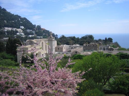 Капри, дворецът на Тиберий