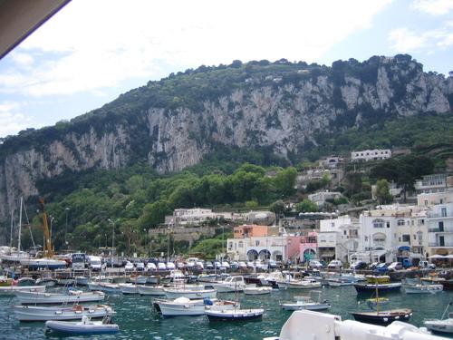 Капри, пристанището Marina Grande