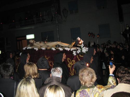 Соренто, ритуалното шествие