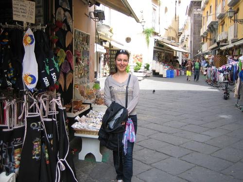 Соренто, уличка с магазинчета