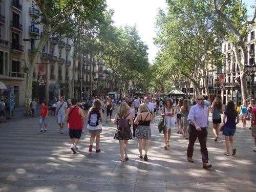 Барселона, Ла Рамбла