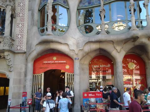 Барселона, къща Батийо