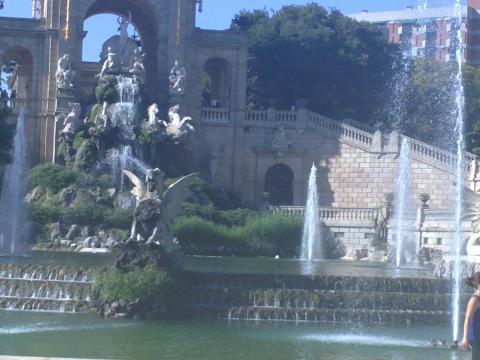 Барселона, Парка на Цитаделата, Каскада
