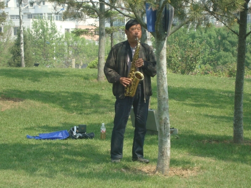 Саксофонистът сутринта