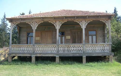 Етнографския комплекс, разположен в покрайнините на Тбилиси