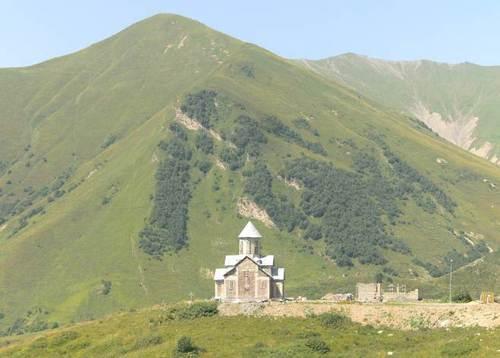 Високопланинското селище и ски-курорт Гудаури