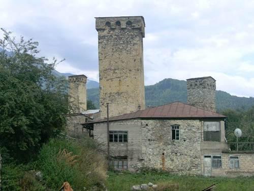 И още от кулите на Сванети