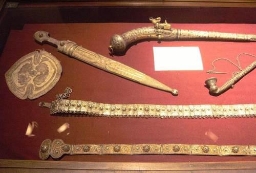 Експонати в Музея на Грузия