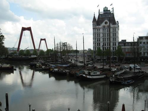 Ротердам, крайбрежната алея