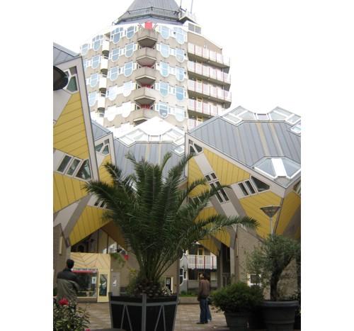 Ротердам, кубистична къща