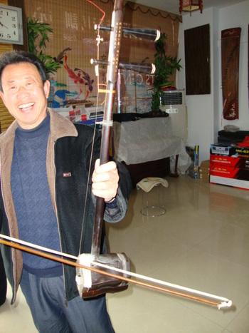 Ърху - двуструнна китайска гъдулка