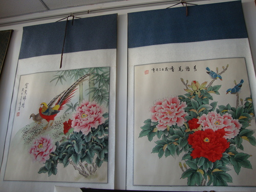 Китайска традиционна живопис 'цветя - и - птици';