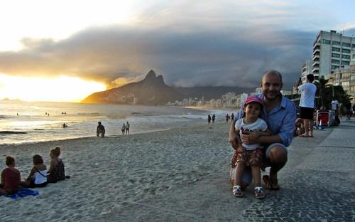 Залез в Рио, Аглая и Слави