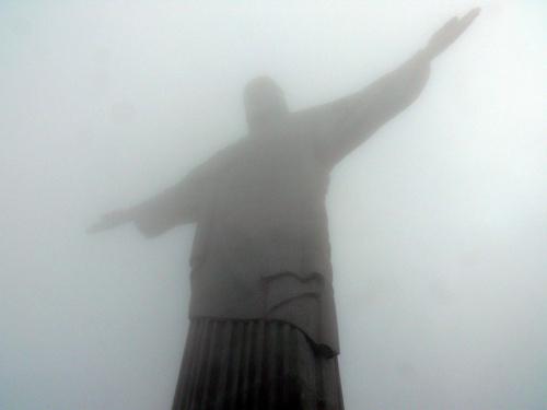 Jusus Christ в облаци