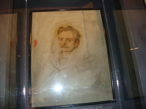 Портретът на влюбения артист, автор Ленбах