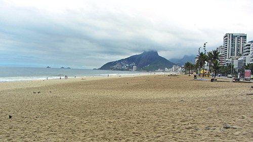 Първата снимка на плажа Ипанема