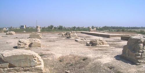 Руините на двореца на Дарий I Велики