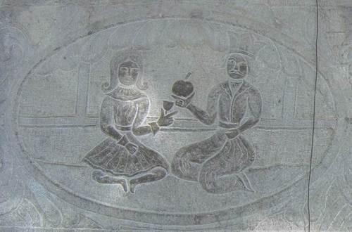 Барелефи, изобразяващи сцени от живота в Персия