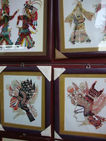 Картини от фино обработена магарешка кожа