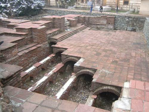 Римските терми в Кюстендил