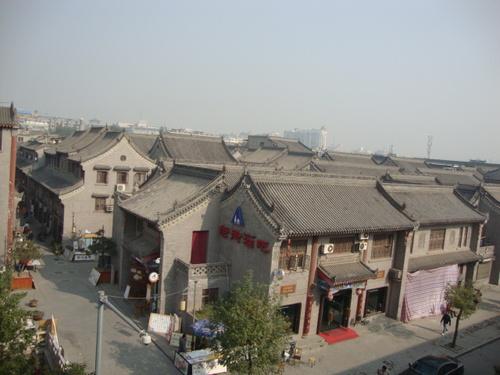 Старият град, гледан от Стената