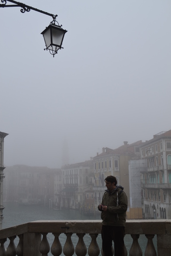 Венеция, на моста Риалто рано сутринта