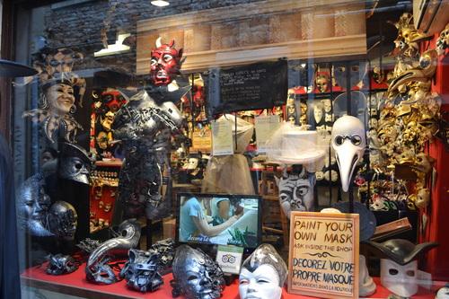 Венеция, Работилница за карнавални маски