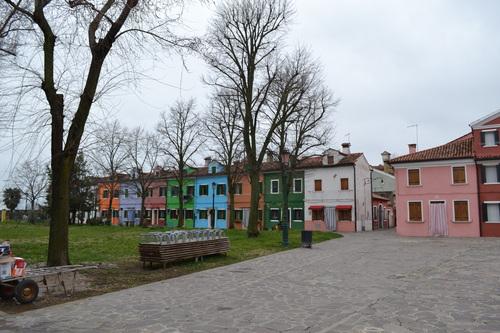 Бурано, цветните къщи