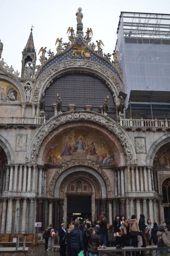 Венеция, Базиликата Сан Марко, конете над входа