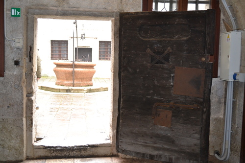 Венеция, Двореца на дожите, затвора