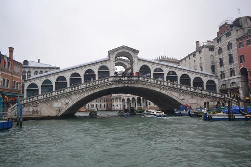 Венеция, Канале Гранде, мост Риалто