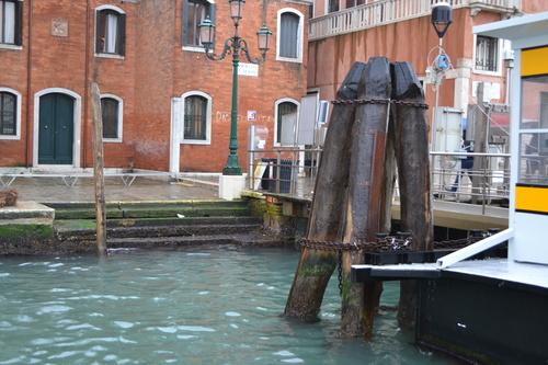 Венеция, спирките на корабчетата