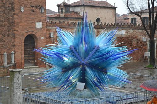 Мурано, стъклена скулптура