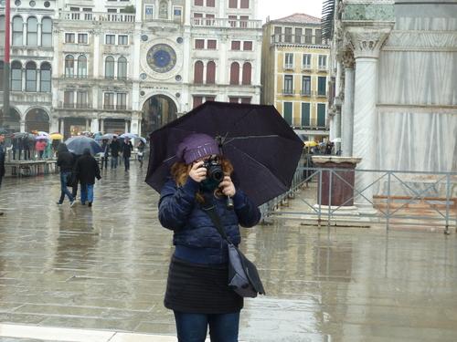 Венеция, с чадъра