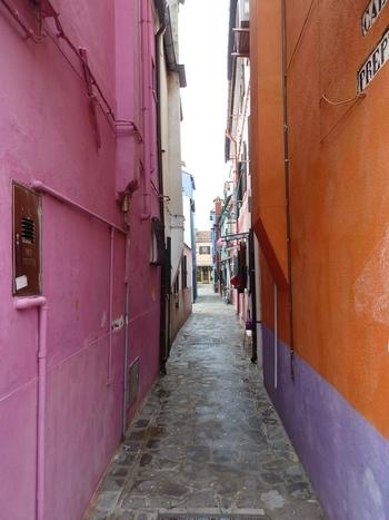 Уличка в Бурано