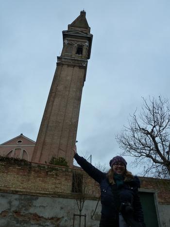 Бурано, наклонената кула