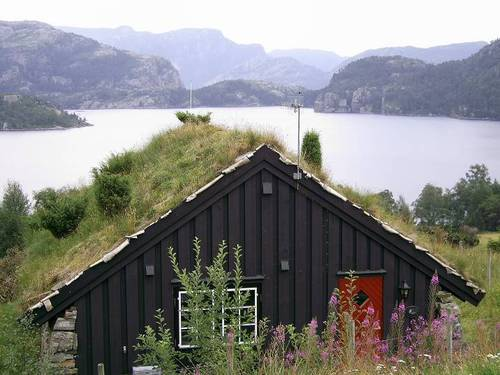 Къща в традиционен норвежки стил