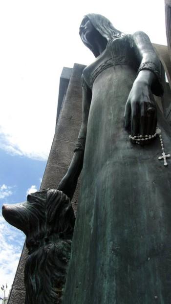 Статуята на Лилияна Кроциати