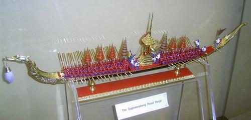 Музеят на Тайланд по случай посещението на краля им на Нордкап