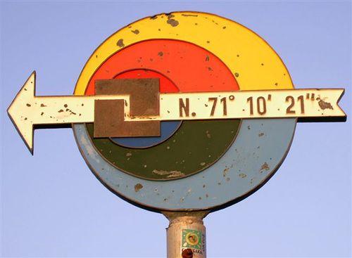 Нос Нордкап е разположен на 71 градуса 10 минути и 21 секунди северна ширина
