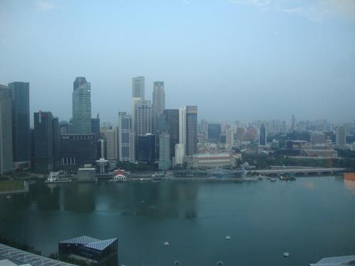 Изглед към града