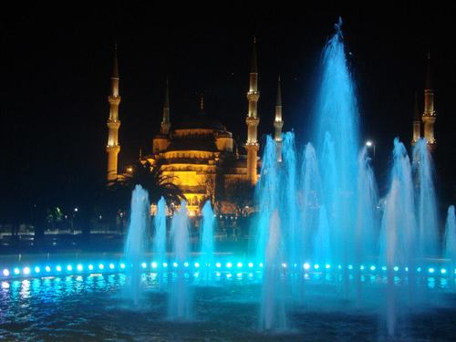 Истанбул, фонтаните