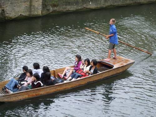 С лодки по река Кем