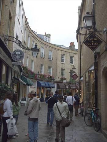 По улиците на Кембридж