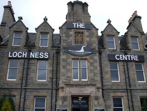 Сградата с експозицията за Неси