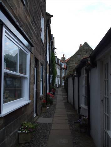 Средновековната част от село Робин Худ'с Бей