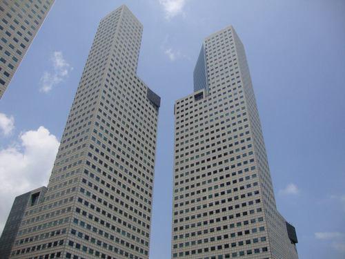 Част от кулите на Suntec City